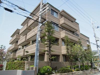 芦屋親王塚町パークマンション/外観・南東側より