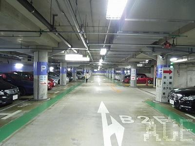 ラポルテ西館/地下駐車場内 芦屋市大原町のマンション