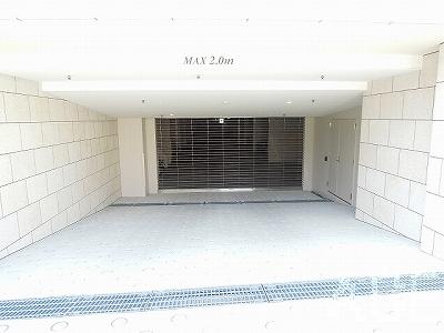 ジオ芦屋東山町/駐車場入口 芦屋市東山町のマンション