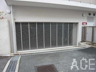 東急ドエル・アルス苦楽園桜町A棟/駐車場地下入口